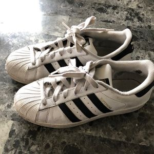 Adidas trefoil shoes